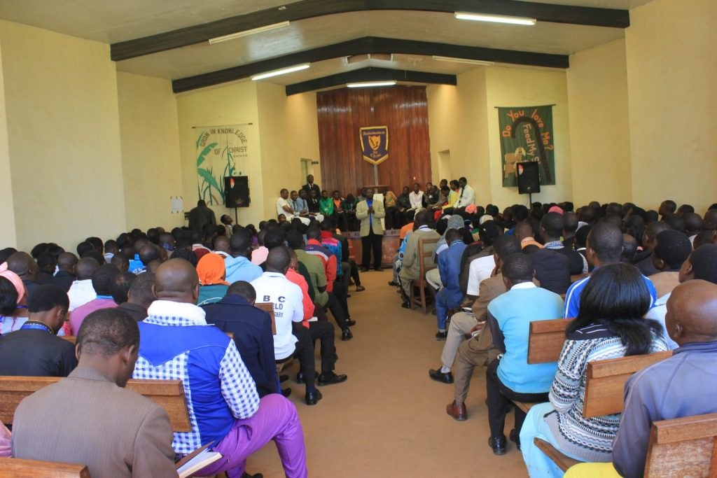 CBTS begins 2020 Academic year with prayers and orientation