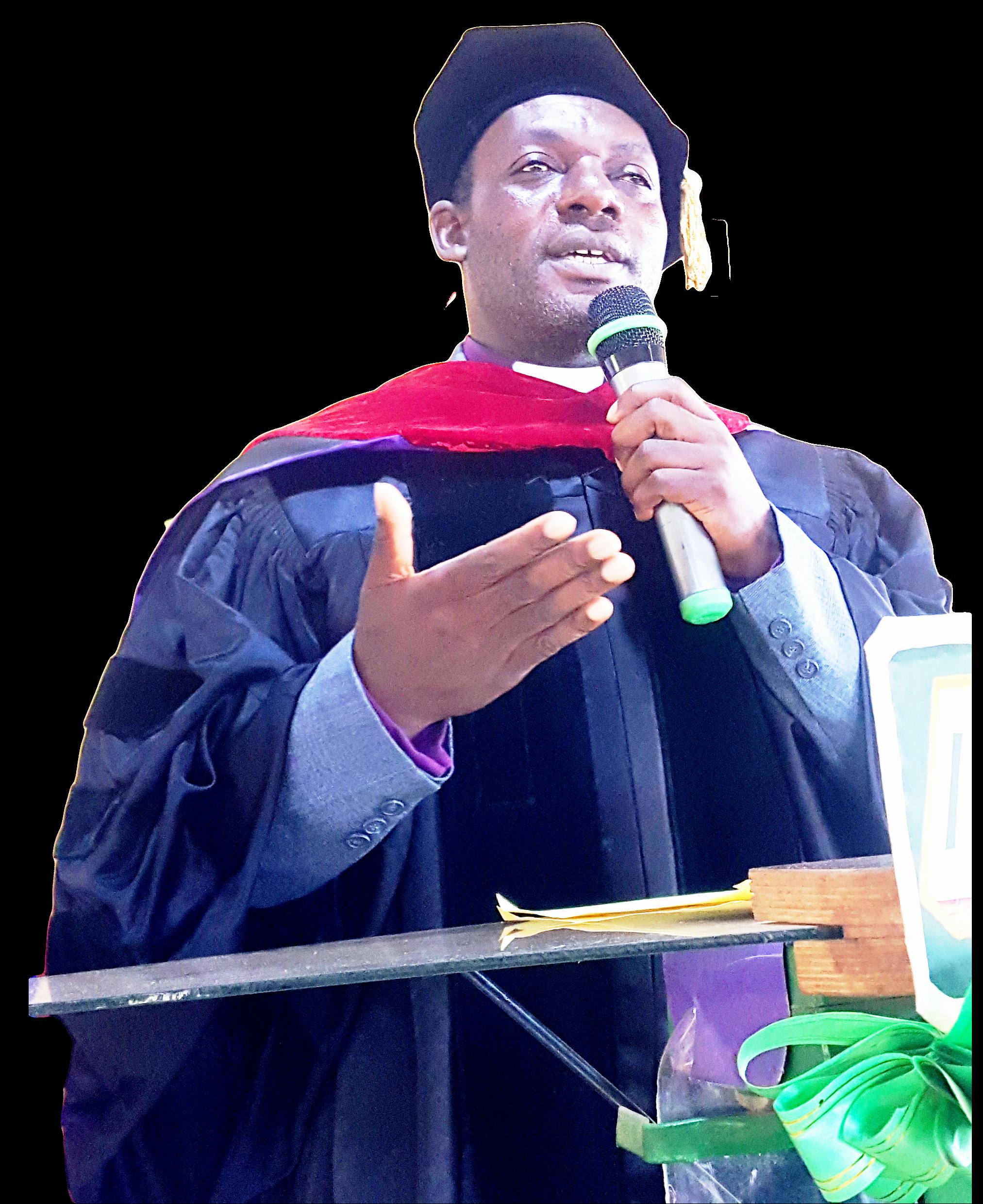 Rev Dr Nseimboh Johnson